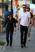Aug. 26, 2014 - New York City, NY, United States - <br /> <br /> Yoko Ono In New York<br /> <br /> New York City....Yoko Ono walks in the West Village on August 26 2014 in New York City <br /> ©Exclusivepix