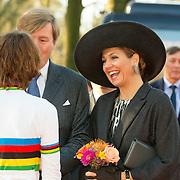 NLD/Rucphen/20160216 - streekbezoek van de Koning Willem Alexander en Koningin Maxima aan West Brabant - Brabantse wal,