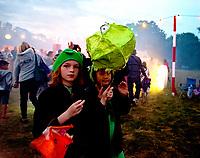 Also Festival 2021 saturday  night parade at Cpmton Verney,photo by Mark Anton Smith<br /> .