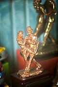 Statue of dancing couple, La Boca, Buenos Aires, Argentina, South America