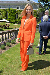 Carmen Jorda at the Cartier Style et Luxe at the Goodwood Festival of Speed, Goodwood, West Sussex, England. 2 July 2017.<br /> Photo by Dominic O'Neill/SilverHub 0203 174 1069 sales@silverhubmedia.com