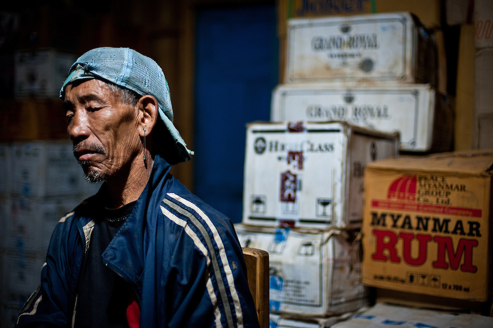 Phang Khol, the patriarch of a family that owns the guesthouse in Layshee, is over eighty years old. Phang Khol remembers Naga warriors returning to his village with a head when he was a small boy, but his parents converted the family to Christianity at least seventy years ago.