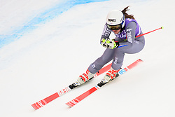 January 19, 2018 - Cortina D'Ampezzo, Dolimites, Italy - Tiffany Gauthier of France competes  during the Downhill race at the Cortina d'Ampezzo FIS World Cup in Cortina d'Ampezzo, Italy on January 19, 2018. (Credit Image: © Rok Rakun/Pacific Press via ZUMA Wire)
