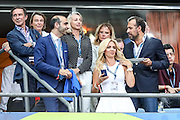 Guests at the Euro Cup final in Saint Denis Stadium in Paris.