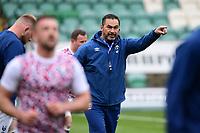 Rugby Union - 2020 / 2021 Gallagher Premiership - Round 14 - Northampton Saints vs Bristol Bears - Franklin Gardens<br /> <br /> Bristol Bears' Head Coach Pat Lam during the pre match warm up.<br /> <br /> COLORSPORT/ASHLEY WESTERN