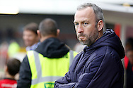 Cambridge United Head Coach Shaun Derry during the EFL Sky Bet League 2 match between Crawley Town and Cambridge United at the Checkatrade.com Stadium, Crawley, England on 12 November 2016. Photo by Andy Walter.