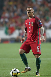 October 10, 2017 - Lisbon, Portugal - Portugal's defender Antunes in action during the 2018 FIFA World Cup qualifying football match between Portugal and Switzerland at the Luz stadium in Lisbon, Portugal on October 10, 2017. Photo: Pedro Fiuza  (Credit Image: © Pedro Fiuza/NurPhoto via ZUMA Press)