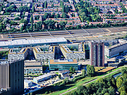 Nederland, Noord-Holland, Amsterdam; 02-09-2020; <br /> <br /> QQQ<br /> <br /> luchtfoto (toeslag op standaard tarieven);<br /> aerial photo (additional fee required)<br /> copyright © 2020 foto/photo Siebe Swart