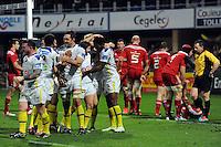 JOIE DE Noa NAKAITACI - 14.12.2014 -  Clermont / Munster  - European Champions Cup <br />Photo : Jean Paul Thomas / Icon Sport