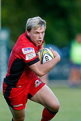 Nathan Fowles of Edinburgh Rugby - Mandatory by-line: Matt McNulty/JMP - 19 August 2016 - RUGBY - Heywood Road Stadium - Manchester, England - Sale Sharks v Edinburgh Rugby - Pre-Season Friendly