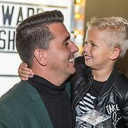 NLD/Utrecht/20181001 - Buma NL Awards 2018, Jan Smit en zoontje Senn