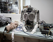 Professor Einstein!  an amazingly expressive and playful robot who trains your brain and teaches you science.
