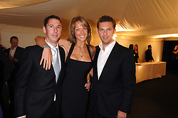 Left to right, CHRIS CANDY, EMILY CROMPTON and NICK CANDY at the Berkeley Square End of Summer Ball in aid of the Prince's Trust held in Berkeley Square, London on 27th September 2007.<br /><br />NON EXCLUSIVE - WORLD RIGHTS