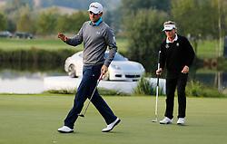 24.09.2015, Beckenbauer Golf Course, Bad Griesbach, GER, PGA European Tour, Porsche European Open, im Bild Bernd Wiesberger nach Birdie Putt an der 18 // during the European Tour, Porsche European Open Golf Tournament at the Beckenbauer Golf Course in Bad Griesbach, Germany on 2015/09/24. EXPA Pictures © 2015, PhotoCredit: EXPA/ SM<br /> <br /> *****ATTENTION - OUT of GER*****