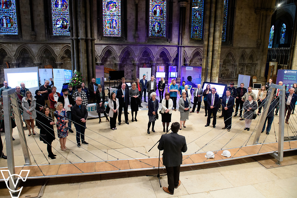 SPARK! Engineering Festival 2019 | VIP preview evening held at Lincoln Cathedral.<br /> <br /> Picture: Chris Vaughan Photography for SPARK<br /> Date: May 2, 2019