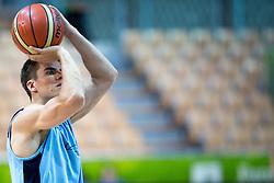 Samuel Haanpää of Finnland at practice session of team Finnland 1 day before the beginning of Eurobasket 2013 on September 3, 2013 in Arena Bonifika, Koper, Slovenia. (Photo by Matic Klansek Velej / Sportida.com)