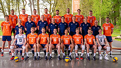 Photoshoot selection of Orange men's volleybal team season 2021on may 11, 2021 in Arnhem, Netherlands (Photo by RHF Agency/Ronald Hoogendoorn)