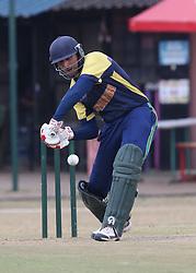 Abdul Aweed of Saudi Arabia bats against Qatar during their Cricket Quadrangular T-20 series match at the Nairobi Jaffery Club on 30 Septermber 2016. Saudi Arabia won 7 wickets. Photo/Fredrick Onyango/www.pic-centre.com