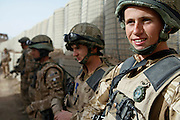 Mcc0018106 . SundayTelegraph..For the Sunday Telegraph..Teenage soldiers from Arnhem Coy, 2 Lancs who've just rotated into Shamoral Storie Patrol Base in the Nad e'Ali district of Helmand province, southern Afghanistan...Afghanistan 8 November 09