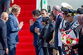 Staatsbezoek  aan Indonesie Aankomst op het vliegveld Jakarta