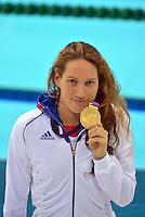 Camille MUFFAT - 400m NL finale - 29.07.2012 - Aquatics Centre - Jeux Olympiques Londres 2012<br />Photo: Dave Winter / Icon Sport