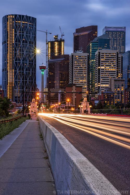 Centre Street & Downtown Calgary