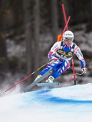 19.12.2013, Saslong, Groeden, ITA, FIS Ski Weltcup, Groeden, Abfahrt, Herren, 2. Traininglauf, im Bild Johan Clarey (FRA) // Johan Clarey of France in action during mens 2nd downhill practice of the Groeden FIS Ski Alpine World Cup at the Saslong Course in Gardena, Italy on 2012/12/19. EXPA Pictures © 2013, PhotoCredit: EXPA/ Johann Groder