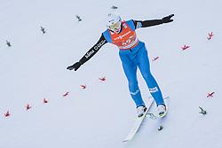 26.02.2021, Oberstdorf, GER, FIS Weltmeisterschaften Ski Nordisch, Oberstdorf 2021, Herren, Nordische Kombination, Skisprung, im Bild Jens Luraas Oftebro (NOR) // Jens Luraas Oftebro of Norway during ski Jumping Competition of men Nordic combined of FIS Nordic Ski World Championships 2021. in Oberstdorf, Germany on 2021/02/26. EXPA Pictures © 2021, PhotoCredit: EXPA/ JFK