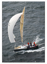 The third days racing at the Bell Lawrie Yachting Series in Tarbert Loch Fyne ..Perfect conditions finally arrived for competitors on the three race courses...GBR4334L Mumm 36 Absolutely in Class 2 from Port Edgar. 4th Overall..