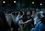 Dartmouth senior Josh Li, joined hundreds of fellow students on the college green in Hanover, N.H., on Tuesday, May 25, to remember four students who died this academic year. (Valley News - James M. Patterson) Copyright Valley News. May not be reprinted or used online without permission. Send requests to permission@vnews.com.