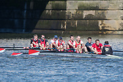 Mortlake/Chiswick, GREATER LONDON. United Kingdom. WRC-MASC.<br /> Wallingford Rowing Club, competing in the 2017 Vesta Veterans Head of the River Race, The Championship Course, Putney to Mortlake on the River Thames.<br /> <br /> <br /> Sunday  26/03/2017<br /> <br /> [Mandatory Credit; Peter SPURRIER/Intersport Images]