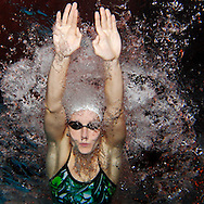 Jessica HARDY of the USA is pictured during an under water photo session in the Buchholz pool in Uster, Switzerland, Sunday, Jan. 31, 2010. (Photo by Patrick B. Kraemer / MAGICPBK)