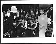 Ghislaine Maxwell, Gian Franco Cicogna, Mr. and Mrs. Brett Leek, Sally Bentley-Leek, James Mcmullen's 30th Clivenden. October 1986.