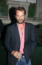 Actor JAMES PUREFOY at a party to celebrate FilmFour becoming the UK's first major free film channel held at Debenham House, Addison Road, London on 20th July 2006.<br /><br />NON EXCLUSIVE - WORLD RIGHTS