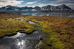 Mountains in Spitsbergen, Svalbard