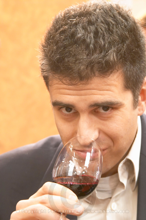 Fabrice Dubosc, winemaker at Chateau Montus and Domaine du Bouscasse Bouscassé, Madiran, France Madiran France