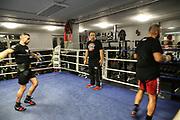 BOXEN: EC Boxing, Training, Hamburg, 30.01.2020<br /> Trainer Bülent Baser<br /> © Torsten Helmke