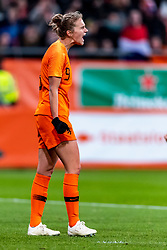 09-11-2018 NED: UEFA WC play-off final Netherlands - Switzerland, Utrecht<br /> European qualifying for the 2019 FIFA Women's World Cup - Vivianne Miedema #9 of Netherlands