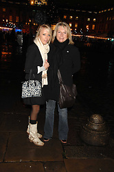 FREYA EDMONDSON and her mother comedienne JENNIFER SAUNDERS at a Winter Party to celebrate the opening of the Ice Rink at Somerset House, London in association with jewellers Tiffany on 20th November 2007.<br />