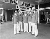 1976 - 05/07 Olympic Team Leave Dublin Airport