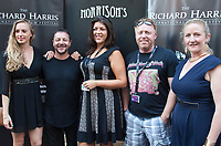 Zeb Moore, Haley-Marie Axe, Steve McCarten and guests  at the Richard Harris International Film Festival short film screening at the 70th Cannes Film Festival, Wednesday 24th May 2017, Morrison's Irish Pub, Cannes, France