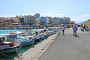Heraklion, Crete Island Greece, harbour