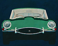 Jaguar E-Type 1960<br />