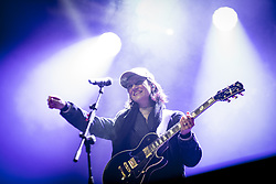 December 31, 2017 - Asti, Asti, Italy - The singer Elisa (Toffoli) in concert at New Year's Eve in Asti. (Credit Image: © Pamela Rovaris/Pacific Press via ZUMA Wire)