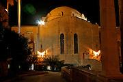 Night shot of Jerusalem, Israel