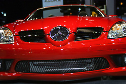 09 February 2006:  2007 Mercedes SLK55 convertible.....Chicago Automobile Trade Association, Chicago Auto Show, McCormick Place, Chicago IL