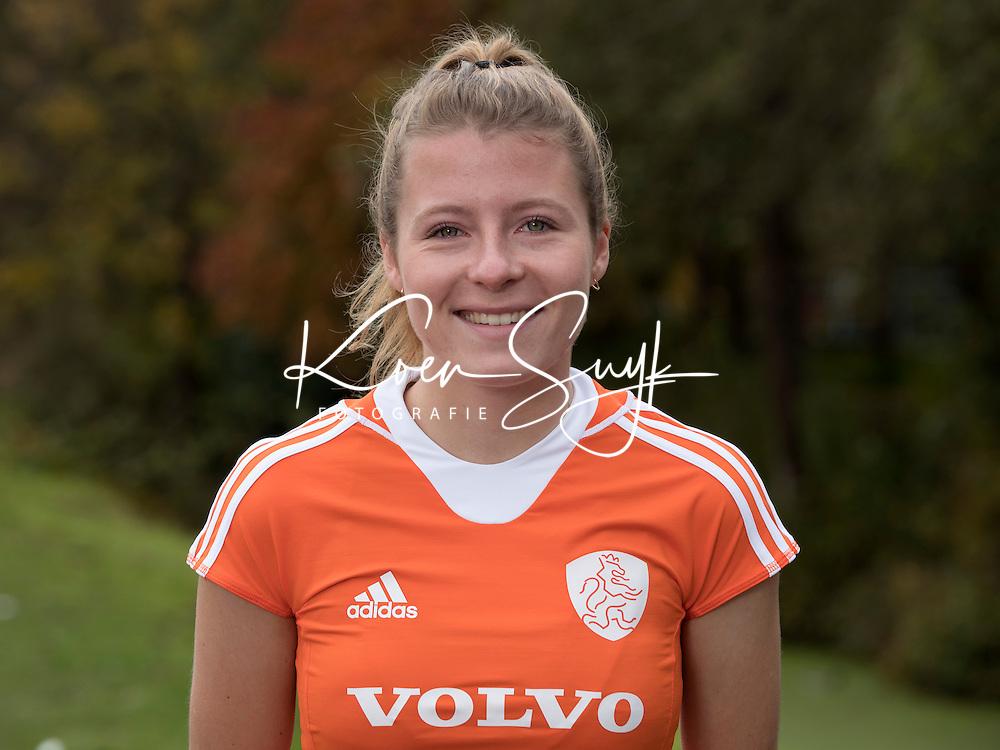 UTRECHT - FABIENNE ROOSEN.  Jong Oranje hockey meisjes -21. COPYRIGHT KOEN SUYK