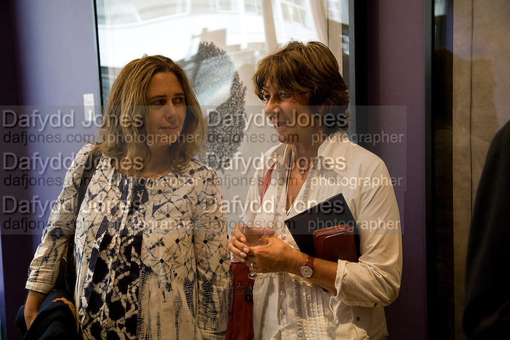 ALEXANDRA SHULMAN AND VALERIE GROVE, Matthew Carr: New Work. Marlborough Gallery. Albermarle St. London. 24 June 2008.  *** Local Caption *** -DO NOT ARCHIVE-© Copyright Photograph by Dafydd Jones. 248 Clapham Rd. London SW9 0PZ. Tel 0207 820 0771. www.dafjones.com.