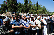 A funeral for an FSA soldier who was shot near Latakia and dragged to the Turkish border, and who later died in a hospital in the southern Turkish city of Antakya, was held today near Yayladagi refugee camp, Turkey. 08/06/2012