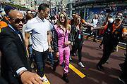 May 20-24, 2015: Monaco Grand Prix: Cara Delevingne and Cristiano Ronaldo